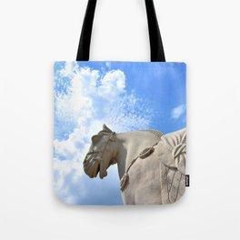 Ancient Warhorse Tote Bag
