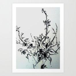 Lonely Bud Art Print