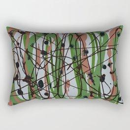Pollicked Rectangular Pillow