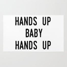 Hands up, baby, hands up Rug