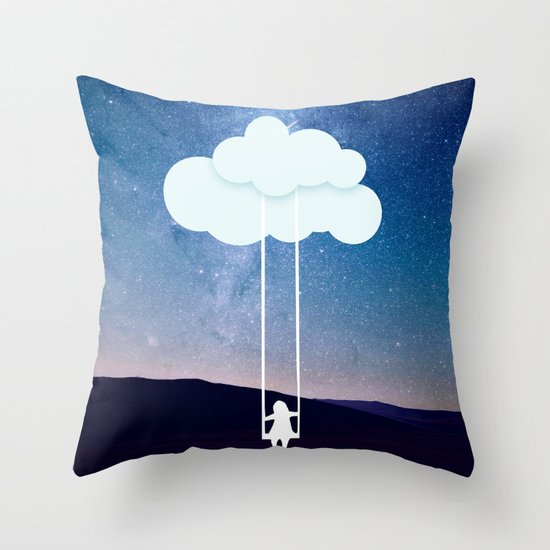 How Big Should Throw Pillows Be : Dream big Throw Pillow by General Design Studio Society6