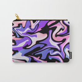 picture with purple pink stains Carry-All Pouch