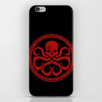 hydra iPhone & iPod Skins featuring Hail Hydra! by livinginamovie