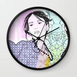 Fashion Model Wall Clock