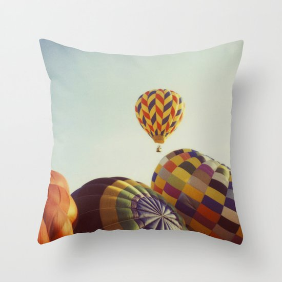 Away We Go Throw Pillow