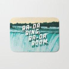 Ba-da Bing, Ba-da Boom. Bath Mat