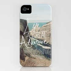 Great Adventure iPhone (4, 4s) Slim Case