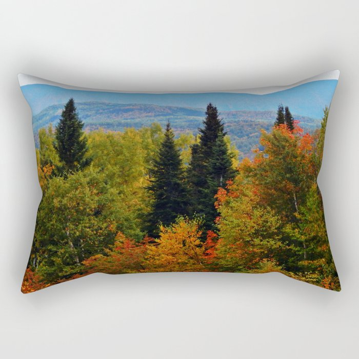 Mont Albert From Afar Rectangular Pillow