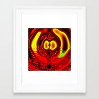 scuba Framed Art Prints featuring Scuba by otorography
