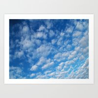 Yesterday's Clouds Art Print