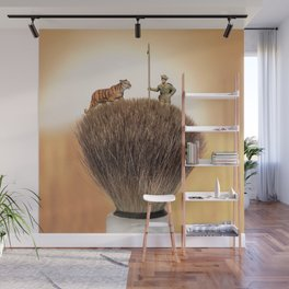 Shaving Brush Savanna Wall Mural