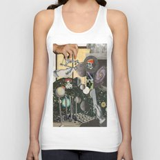 Worlds Within Worlds Unisex Tank Top
