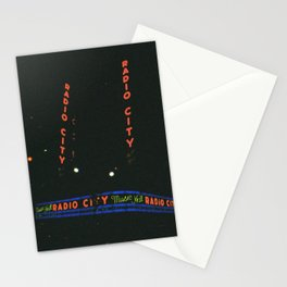 Radio City Music Hall, New York Stationery Cards