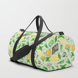 Healing Protection Potion Ingredients Duffle Bag