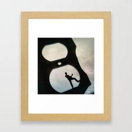 House Disaster Art -  Electric Rock Framed Art Print