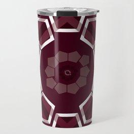 GeoFlower - Plumb Travel Mug