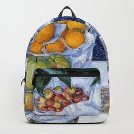 Gustave Caillebotte - Fruit Displayed On A Stand - Digital Remastered Edition Backpack