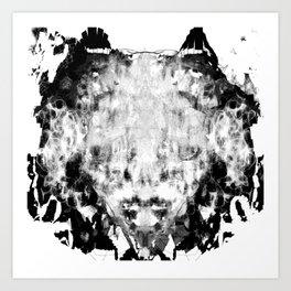 LION'S HEAD Art Print
