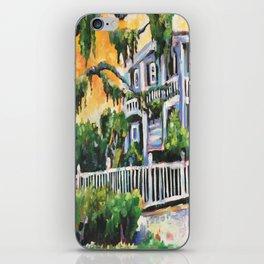 The Row House  iPhone Skin