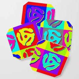 Pop Art Retro Vinyl Collector Coaster