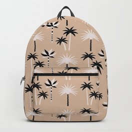 Palm Trees - Neutral Black & White Backpack
