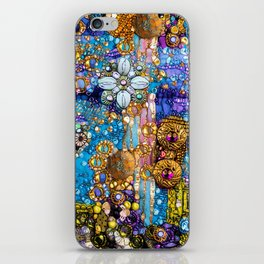 Gold, Glitter, Gems and Sparkles iPhone Skin