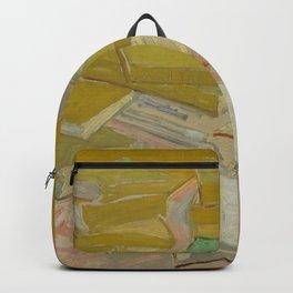 """Vincent Van Gogh """" Piles of French novels"""" Backpack"""