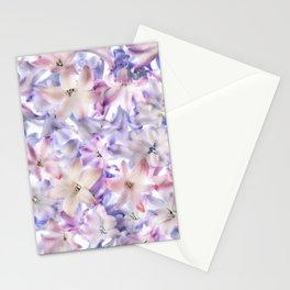 Hyacinth Flowers Stationery Cards