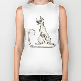 Cats with Tats v.1 Biker Tank