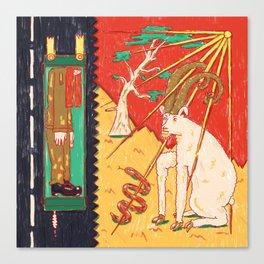 Mizpe Ramon Canvas Print
