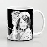 jfk Mugs featuring JFK Assassination: Inside Job! by InvaderDig