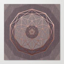 Geodis Magic Stone Canvas Print
