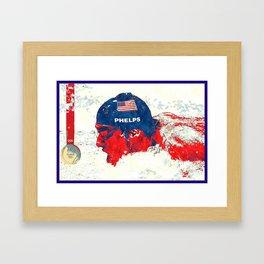 Michael Phelps Framed Art Print