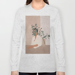 Behind the Leaves Long Sleeve T-shirt