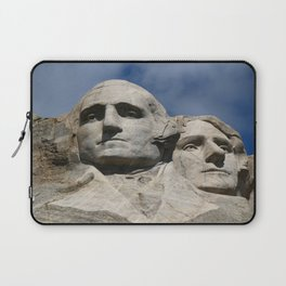 George Washington And Thomas Jefferson  - Mount Rushmore Laptop Sleeve