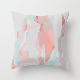Abstract Painting No. 18 Throw Pillow