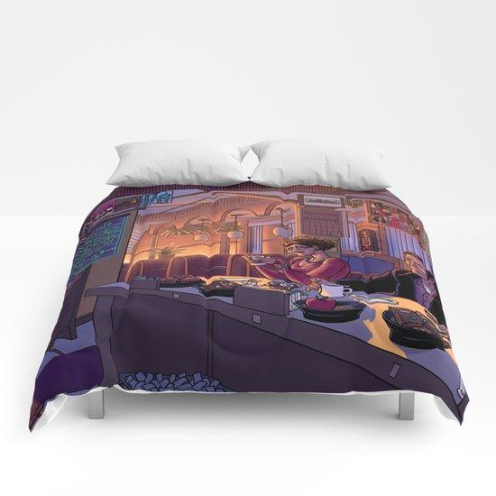 Diner Scene Comforters