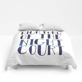 High Lord of the Night Court Comforters