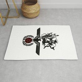 The Satanic Eagle Rug