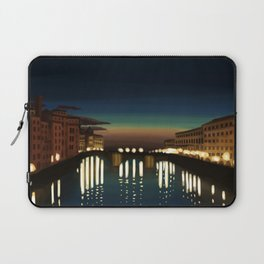 The Arno River Laptop Sleeve