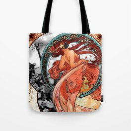 Fire Dance on the Western Front Tote Bag