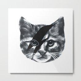 Stardust Cat Metal Print