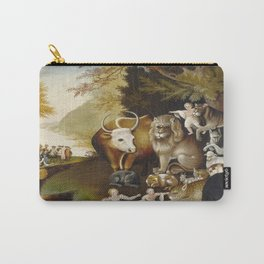 Edward Hicks's Peaceable Kingdom Carry-All Pouch