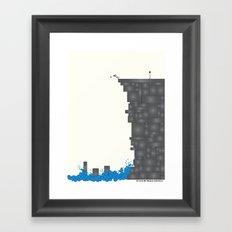 Cliff  Framed Art Print