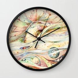Biology Wall Clock