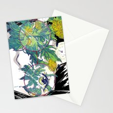 Blurry Eyes Stationery Cards