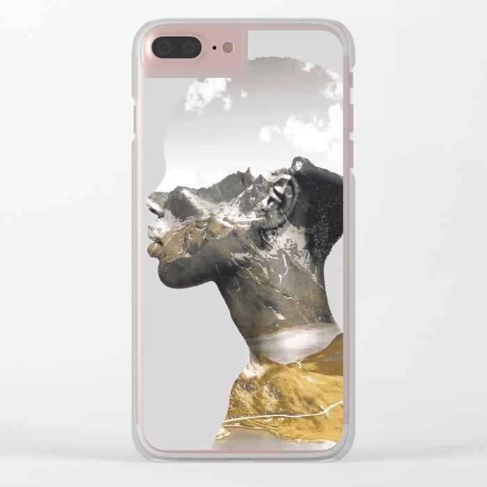 Portrait (Nature) Clear iPhone Case