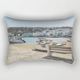 Mykonos, Greece Rectangular Pillow