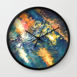 Puddle Wall Clock