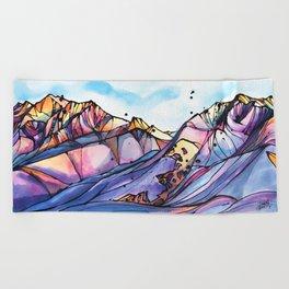 Valley of Dreams Beach Towel